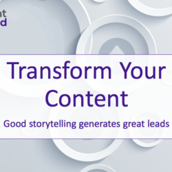 stories to generate sales