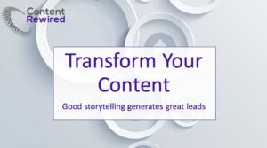 stories to generate sales