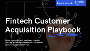 fintech customer acquisition playbook