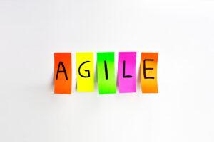 agile content marketing fintech